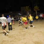 Flag Football on the Beach