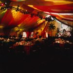 Gala tent at the St Regis Monarch Beach