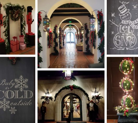 Decking the Halls in Los Angeles